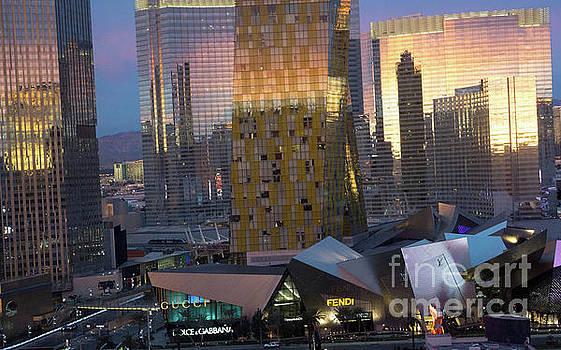 Las Vegas Sunrise Reflection by Tina Hailey