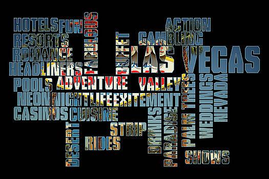 Ricky Barnard - Las Vegas Word Art