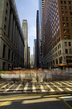 LaSalle Street Commuter action by Sven Brogren