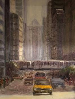 LaSalle Street by Will Germino