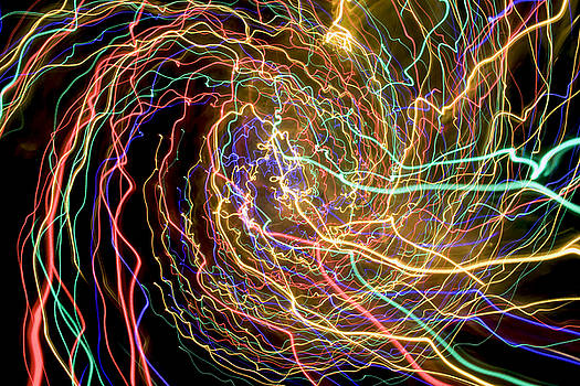 Laser Swirls by Digartz - Thom Williams
