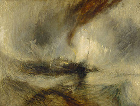 Lashed To The Mast Homage to Turner by Chris Mackie