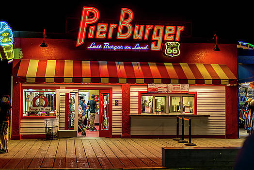 Last Burger On Land by Gene Parks