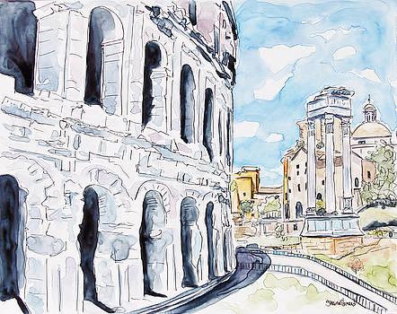 Last Days In Rome by Shaina Stinard