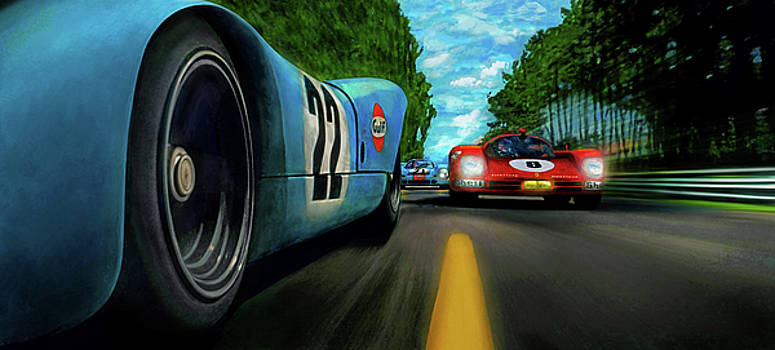 Last Lap by Alan Greene