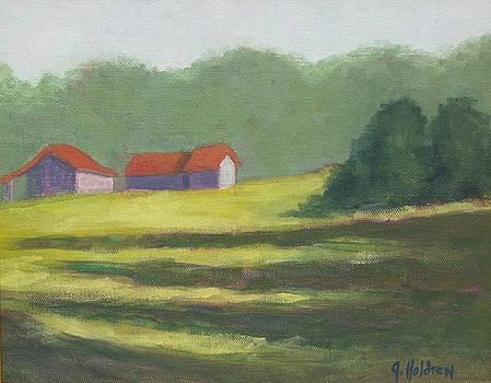 Last Light Liberty Farm by Justin  Holdren