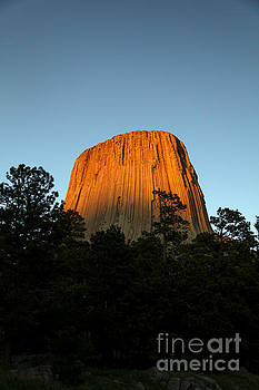 Last Light on Devil's Tower by Natural Focal Point Photography