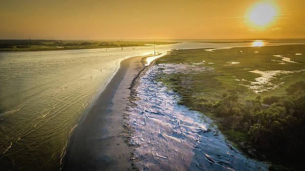 Last Light Over Boneyard Beach by Matt Spangard