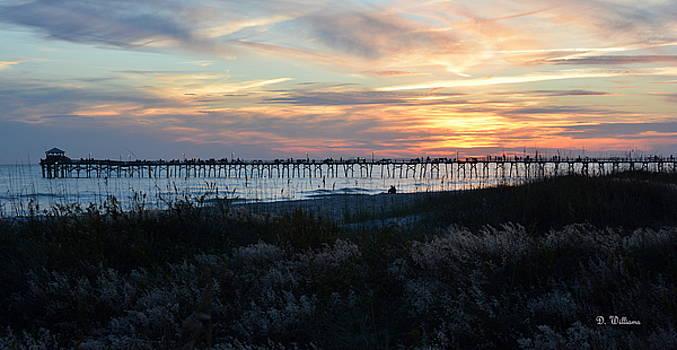 Last Light....Last Pier by Dan Williams
