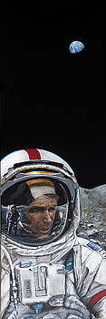 Last Men- Gene Cernan by Simon Kregar