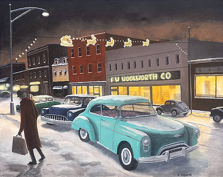 Last Minute Shopper by Dave Rheaume