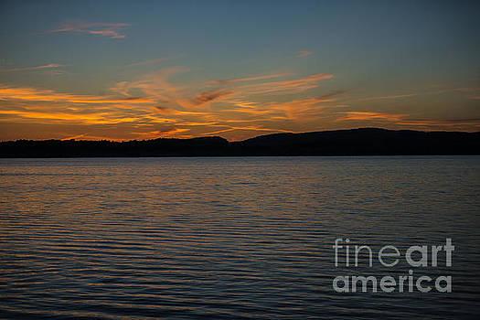 Last Nights Sunset 2 by Brian Mollenkopf