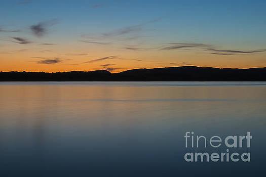 Last Nights Sunset by Brian Mollenkopf