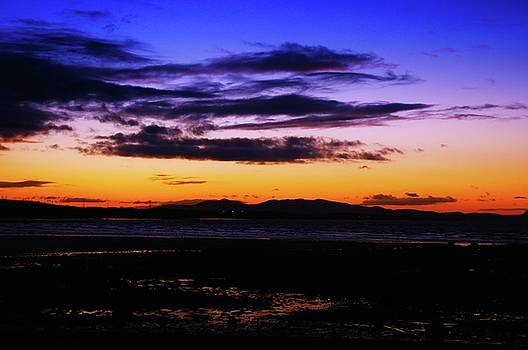 Last of a Lovely Evening in Longniddry by Nik Watt