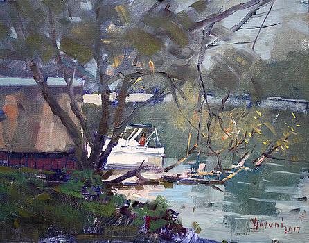 Ylli Haruni - Last Sun Touches by Tonawanda Canal