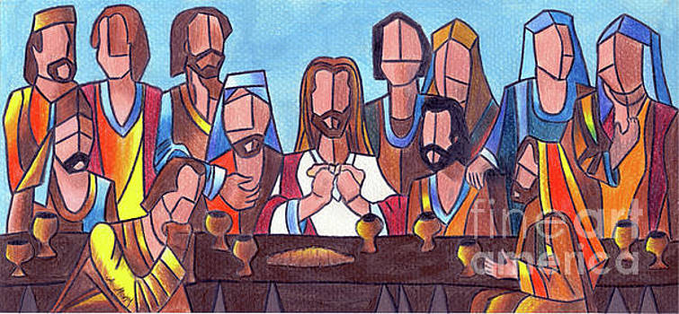 Last Supper by Eman Allam