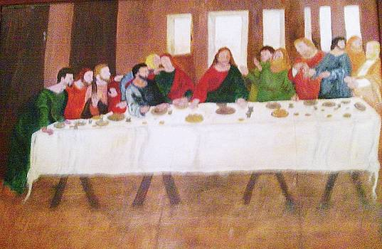 Last Supper by Helen Vanterpool