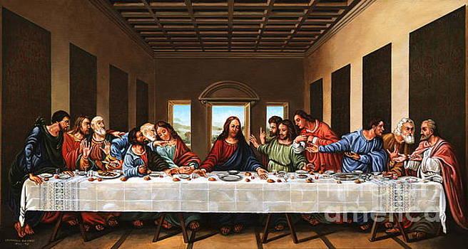Last Supper by Michael Nowak