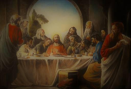 Last Supper by Sorin Apostolescu