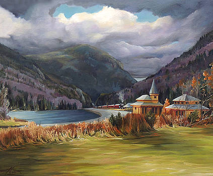Last Train to Crawford Notch Depot by Nancy Griswold