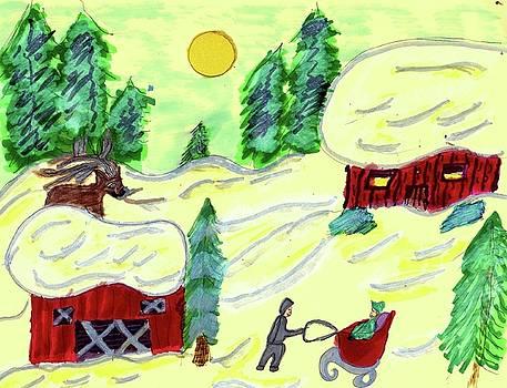 March Snow   by Elinor Helen Rakowski