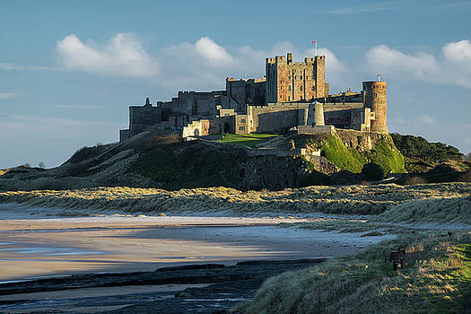 Late Afternoon Bamburgh by David Taylor