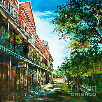 Late Afternoon on the Square by Dianne Parks