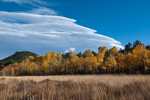 Late Autumn Rocky Mountain Landscape by Cascade Colors