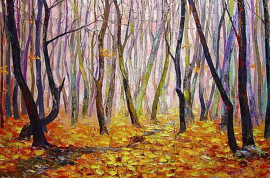 Late Fall by Keren Gorzhaltsan