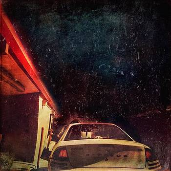 Late Night Drive-thru... #night #car by Judy Green