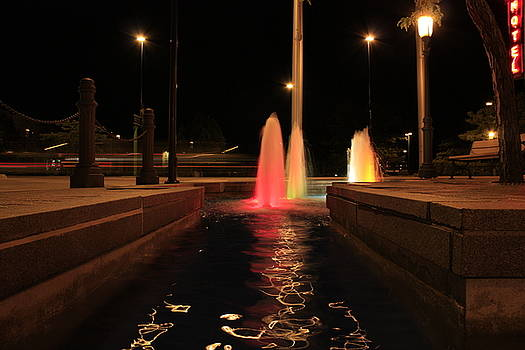 Late Night Fountain by Rob Allen