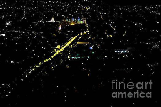Late Night In Cuenca, Ecuador by Al Bourassa