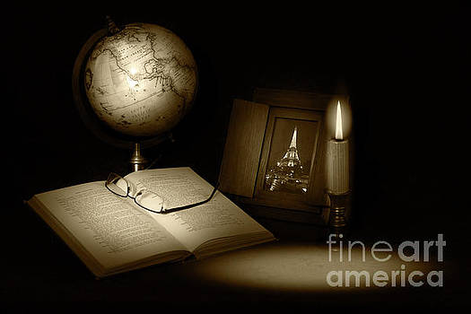 Late Night Studying by Cecil Fuselier