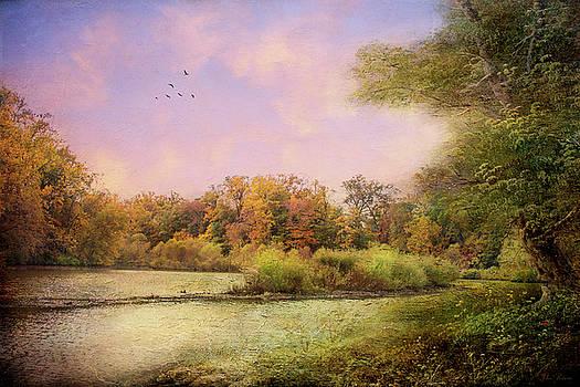 Late October Morning by John Rivera