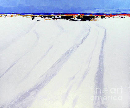 Late Snow by Hilton McLaurin