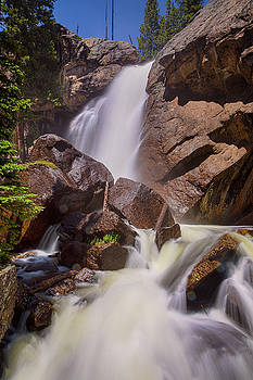 Late Spring Ouzel Falls Portrait by James BO Insogna
