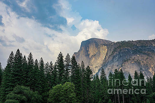 Late Summer Half Dome  by Jeffrey Hubbard