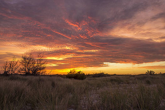 Late Summer Sunset by Roderick Breem