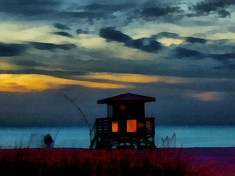 TAWES DEWYNGAERT - Later at Lido Beach