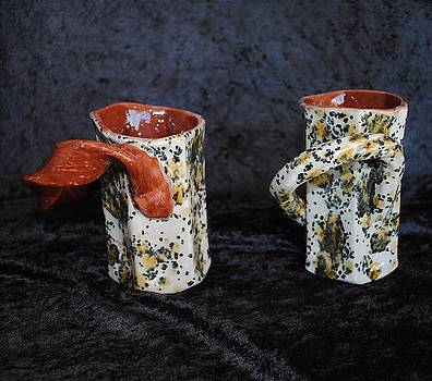 Latte Karamell Mugs by John Johnson