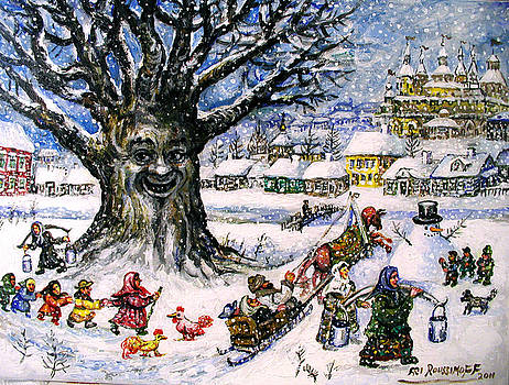 Ari Roussimoff - Laughing Tree In The Snow