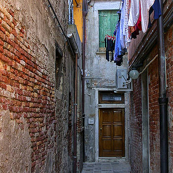Laundry and Door by Gej Jones