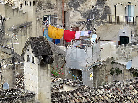 Laundry Day in Matera.Italy by Jennie Breeze