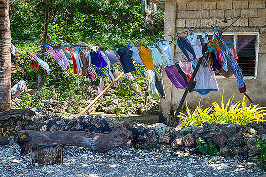 James BO Insogna - Laundry Drying in The Wind