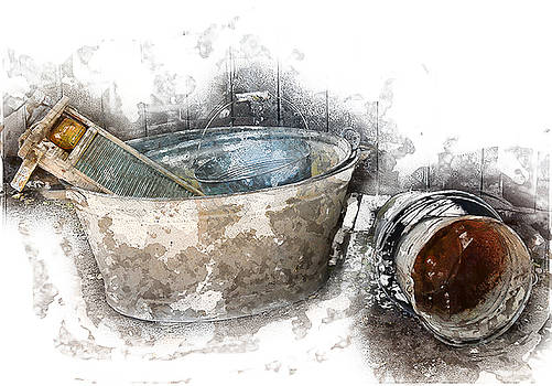 Laundry of Old by John Combe
