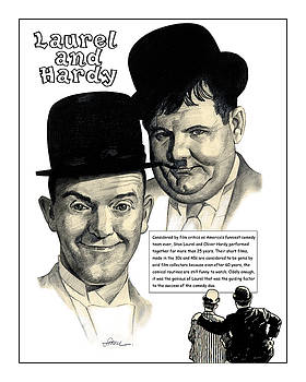 Laurel and Hardy by Harold Shull