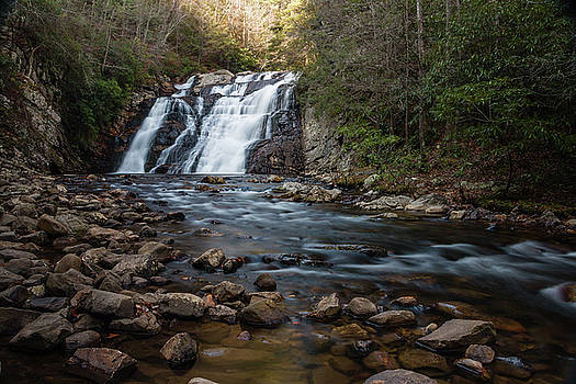 Laurel Falls in Autumn #1 by Jeff Severson