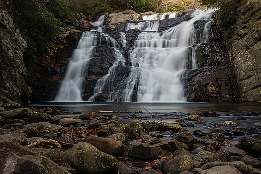 Laurel Falls in Autumn II by Jeff Severson