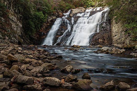 Laurel Falls in Autumn III by Jeff Severson
