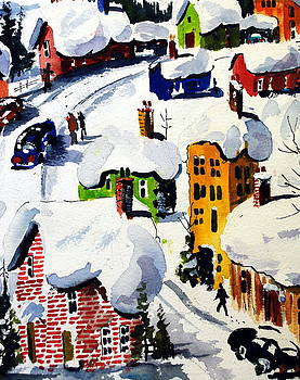 Laurentian Snows by Wilfred McOstrich